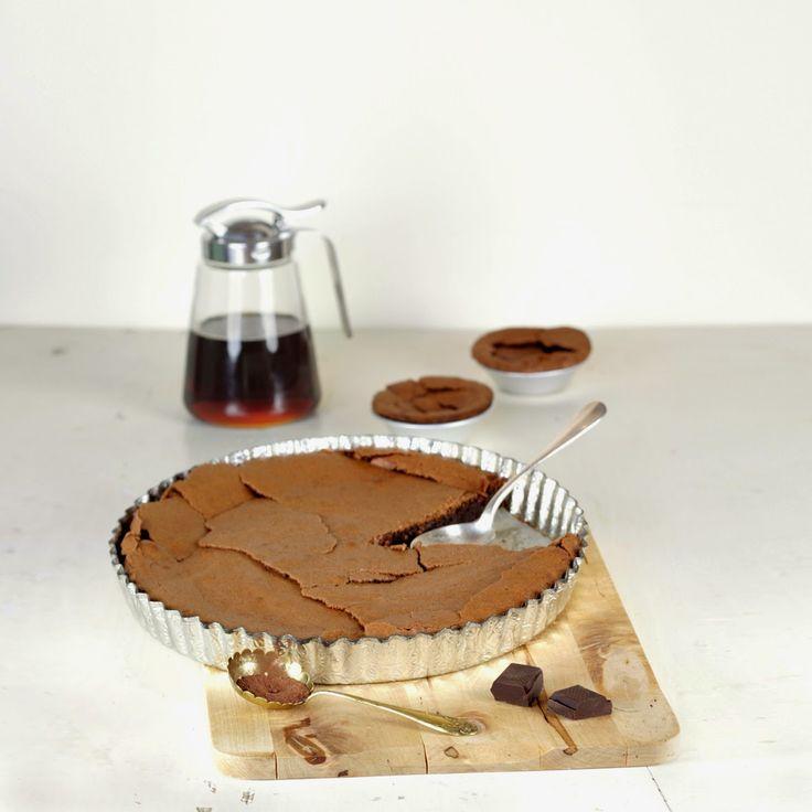 Gâteau fondant chocolat noisette sans gluten