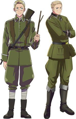 I JUST, DOES ANYONE ELSE THINK THE OLD GERMANY LOOKS LIKE HES GONNA MURDER THE NEW ONE WITH A STICK....?<<<<YES.