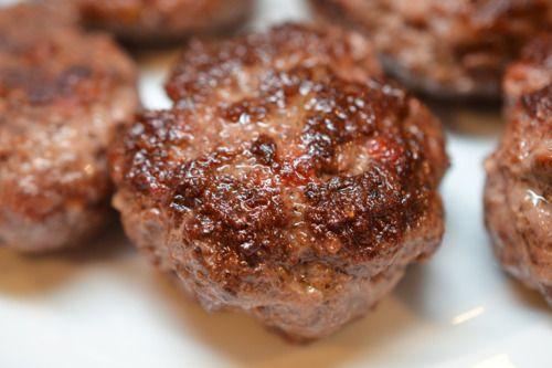 Sous Vide Turkish Slider Burgers - I don't have a sous vide, but I'd ...