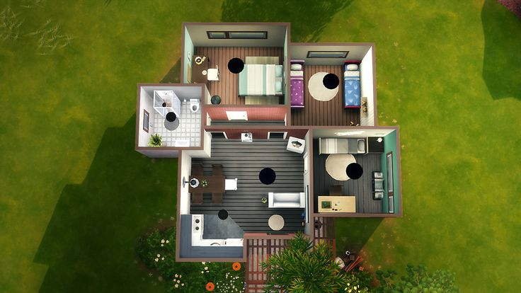 Les 25 meilleures id es de la cat gorie maison sims sur for Acheter une maison construite par un particulier