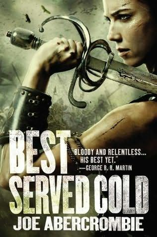 Best Served Cold (2009)  by Joe Abercrombie.  Good read if you're looking for a DARK story with lots of revenge and a great twist at the end.