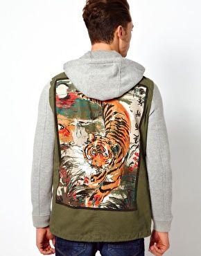 River Island Tiger Jacket