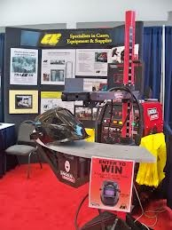 Trade shows, events, recruiting, and more - the VRTEX 360 draws a crowd and allows people to try welding training