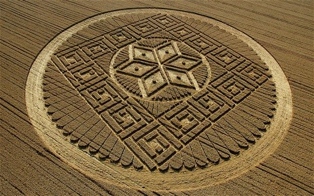 In the past, the best crop circles have attracted tourists from around the world, sparked rumours of aliens and theories of fiendishly difficult mathematical formulas hidden in their meaning. Description from telegraph.co.uk. I searched for this on bing.com/images