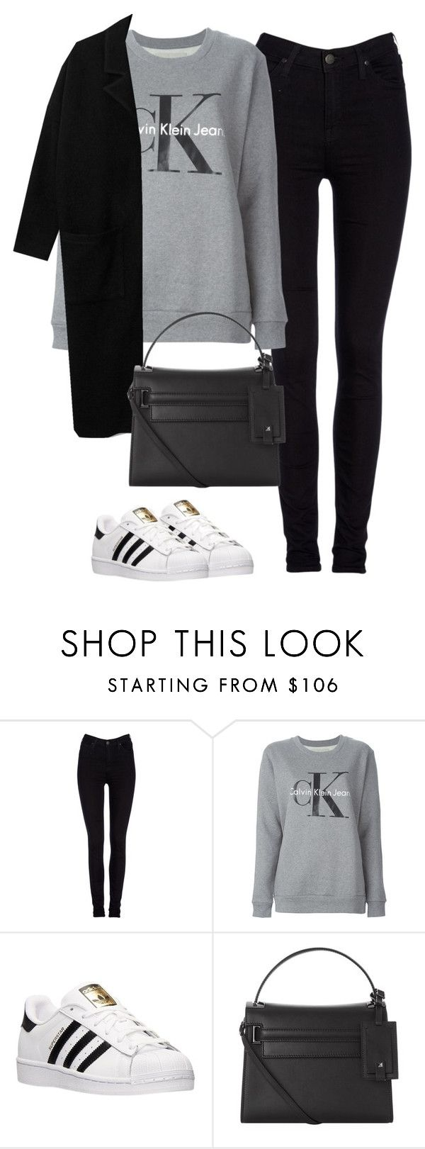 """Untitled #465"" by christyandnef on Polyvore featuring Lee, Calvin Klein Jeans, adidas, Valentino, women's clothing, women, female, woman, misses and juniors"