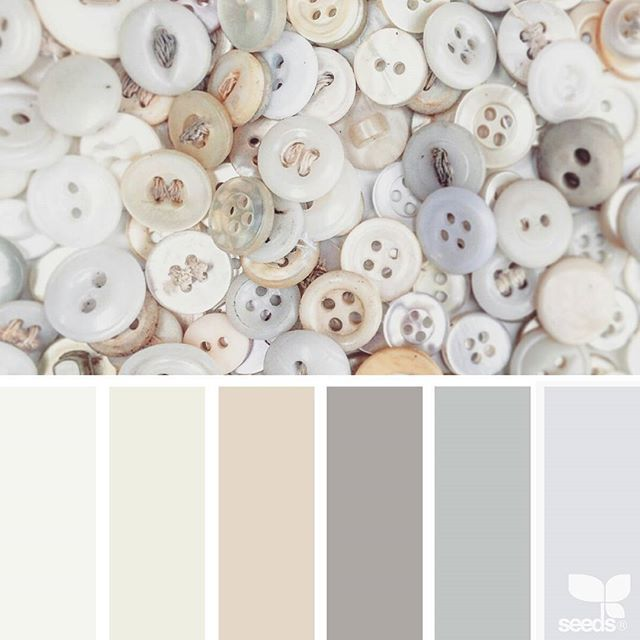 today's inspiration image for { buttoned tones } is by @suertj ... thank you, Sue, for your wonderfully inspiring #SeedsColor image share!