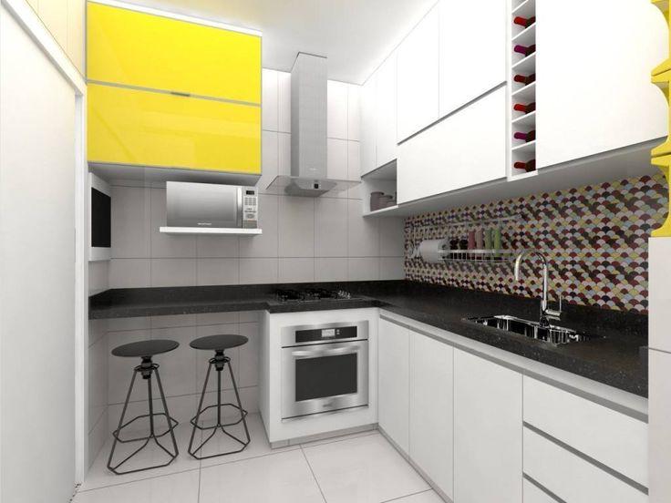 Apartamento .VB : Cozinhas modernas por Amis Arquitetura & Design