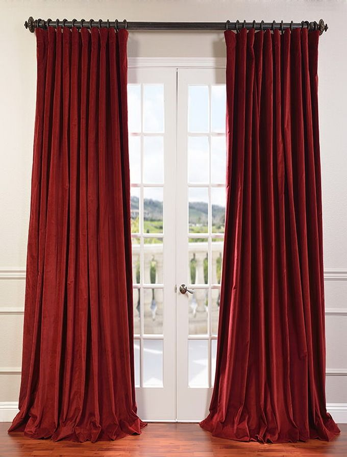 Más de 25 excelentes ideas populares sobre red velvet curtains en ...