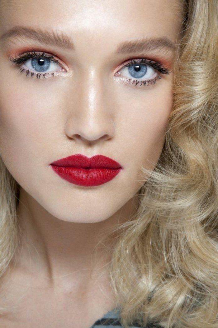 Souvent Les 25 meilleures idées de la catégorie Blond foncé yeux bleus sur  GQ89