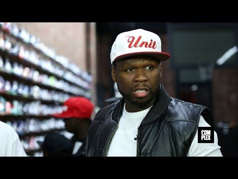 50 Cent and G-Unit Go Sneaker Shopping With Complex - http://elegantshoegirl.com/50-cent-and-g-unit-go-sneaker-shopping-with-complex/