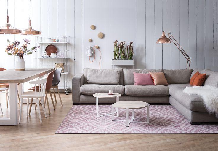 Soft Naturel Stijl Studio   seizoen 5   Eijerkamp #lounge #linnen #landelijk #design #soft #pastel