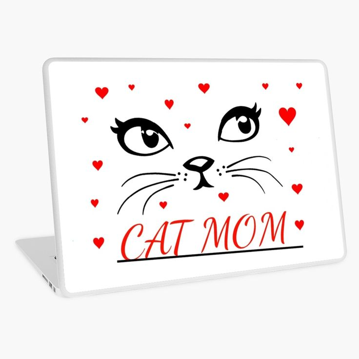 Cat Mom T Shirts Best Cat Gifts Laptop Skin Cat Mom Cat Gifts Cool Cats