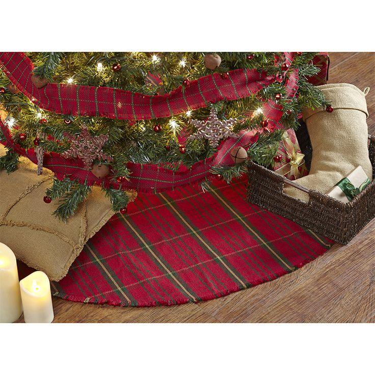 Jasper Woven Christmas Tree Skirt 48
