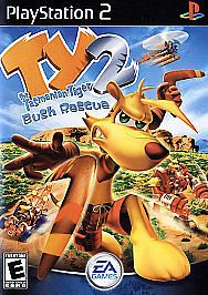 Ty the Tasmanian Tiger 2: Bush Rescue PS2 Sony PlayStation 2 Complete!