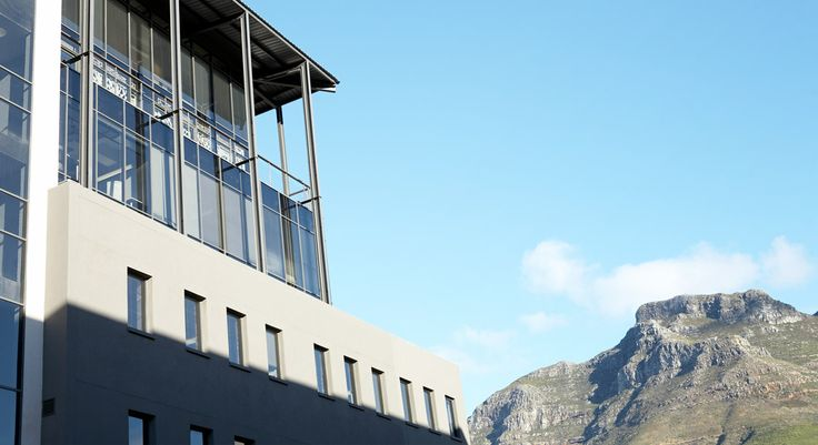 Our Cape Town office has the best view.