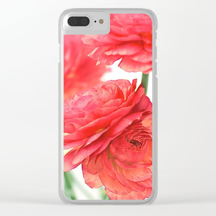 Buy Vintage Ranunculus (10) Clear iPhone Case by maryberg. Worldwide shipping available at Society6.com. Just one of millions of high quality products available.