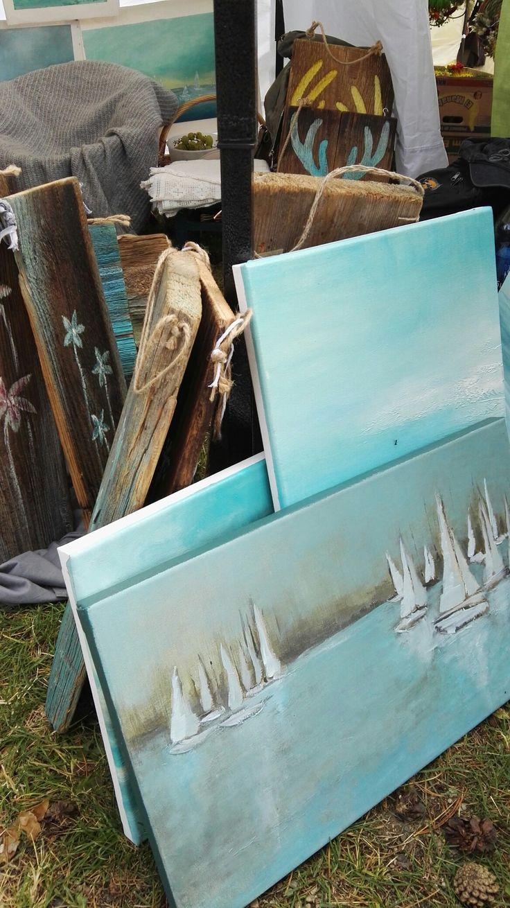 Obrazy olejne, obrazy abstrakcyjne, marynistyka, Sylwia Michalska malarstwo