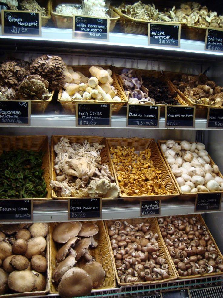 Culinary Shrooms, Eataly, Mario Batali's Italian food mecca on Fifth Avenue in NYC