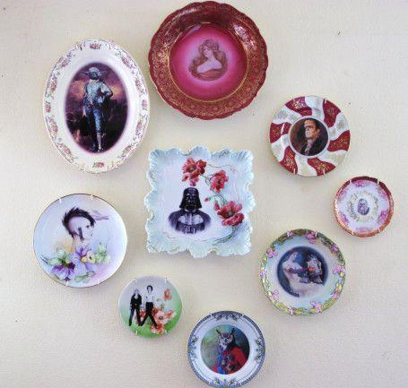 I'm not gonna lie. I kinda like these kitschy plates.