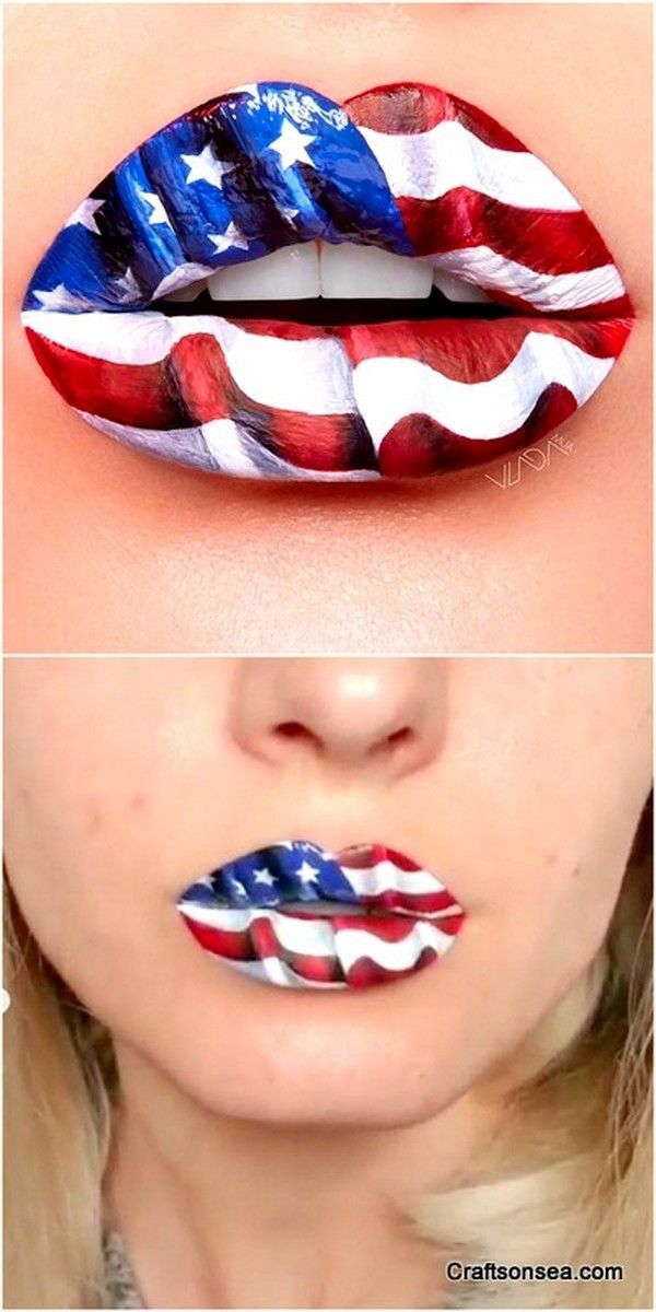 30 How To Do Easy And Professional Diy Lips Art On Lips In 2020 Lip Art Diy Lips Lipstick Art