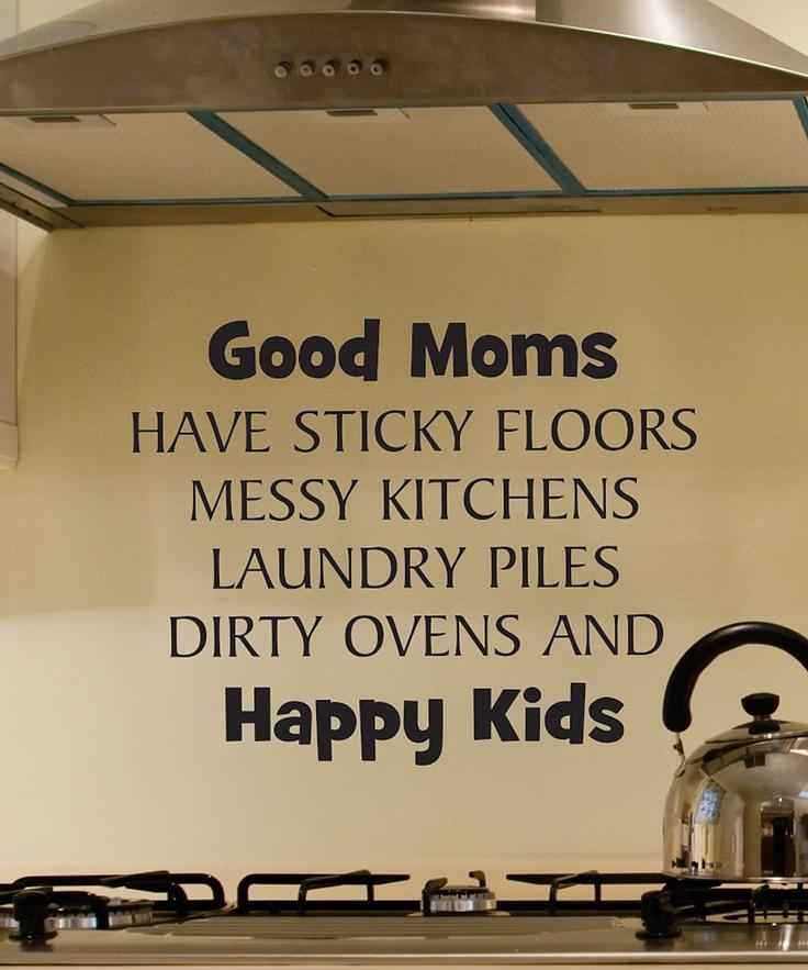 good moms...
