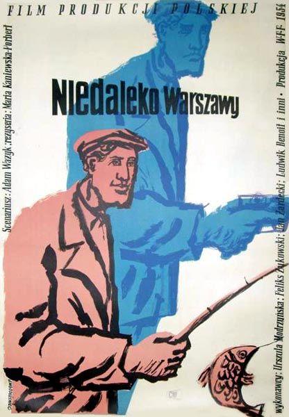 1954 MLODOZENIEC: Niedaleko Warszawy