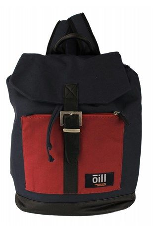 Oill Pole Housten Mix Backpack Navy