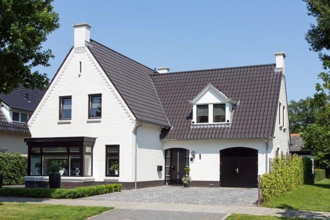 Meer informatie vrijstaande of 2 onder 1 kap woning zestienhoven pinterest 1 of and 2 - Modern stenen huis ...