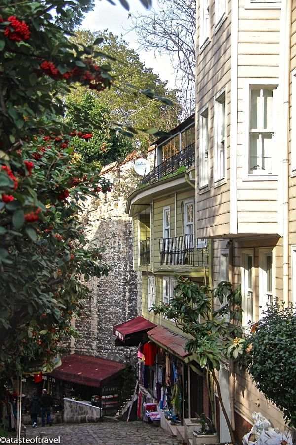 Cold Fountain Street - Istanbul Turkey