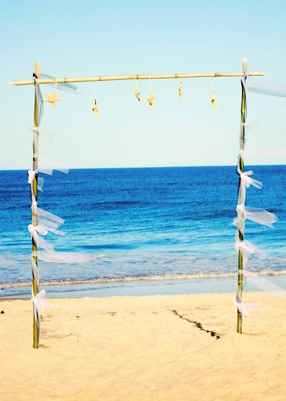 What A Simple DIY Idea For Beachwedding In Cambria CA