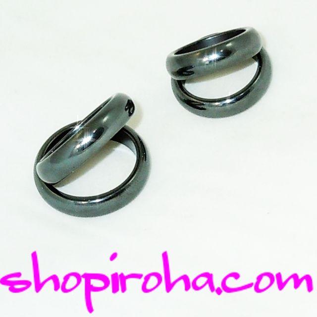 http://shopiroha.com/?pid=65648853 磁気入りブラックヘマタイトリング パワーストーンヘマタイト!ストーンリング