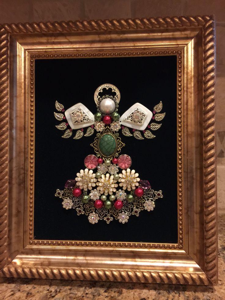 Angel made from jewlery. made by B. Turchi 2014