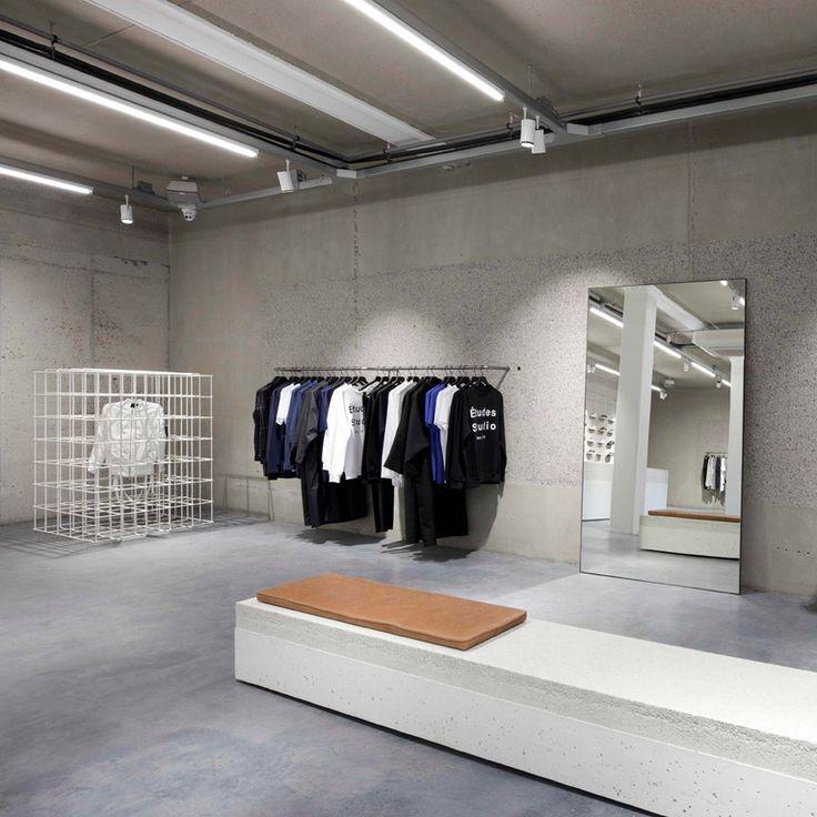 Studio Jos van Dijk creates minimal concrete interior for ETQ Amsterdam store