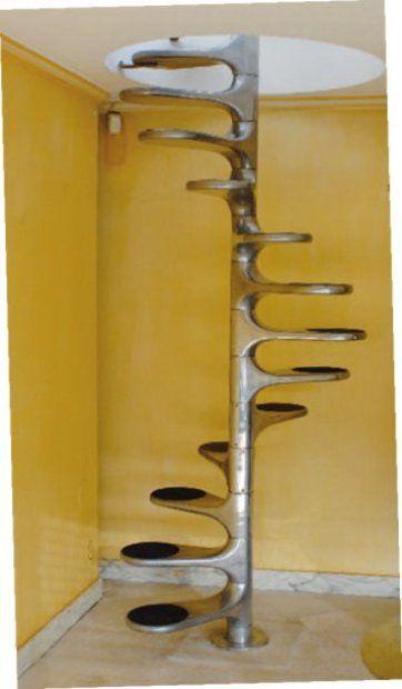 Metal Staircase | Roger Tallon | 1970s