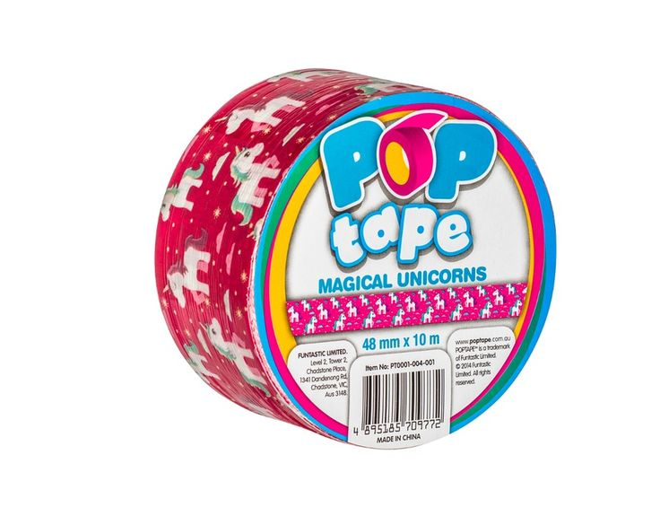 Buy Unicorns POPtape|Duct Tape Australia|Full Range of Coloured and Patterned Duct tape for craft