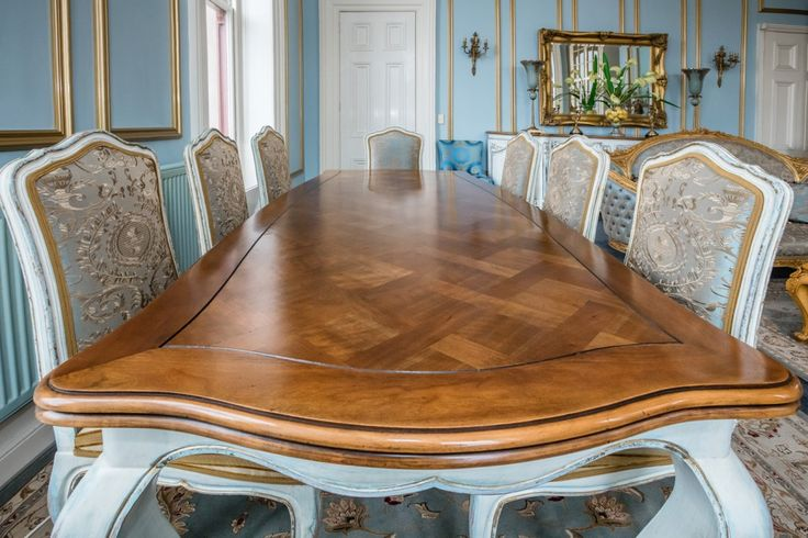 Victorian Style Parquetry Dining Table