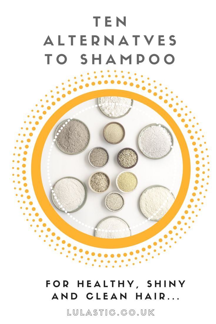 The rye flour shampoo in this list is the BEST shampoo ever! - 10 Shampoo alternatives for healthy hair