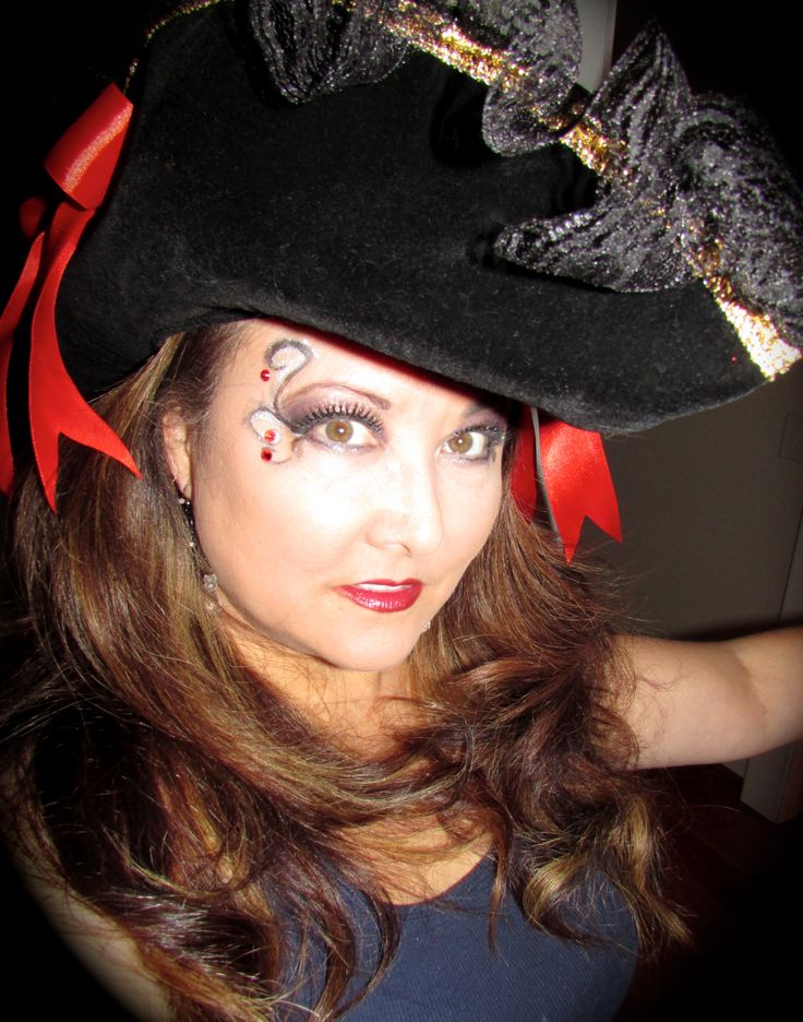 Pirate Makeup | Halloween | Pinterest | Pirates Makeup And Pirate Makeup