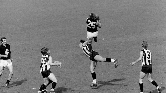 Jezza! The most famous mark in AFL football