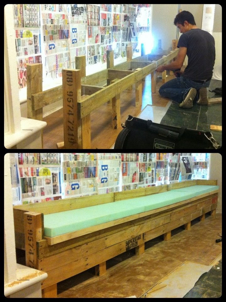 17 Best Cafe Style Bench Seating Images On Pinterest