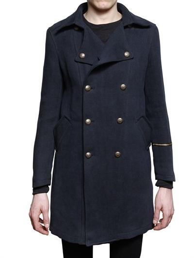 HUGO PRATT FOR CORTO MALTESE - WOOL CLOTH PARCOUR CABAN COAT