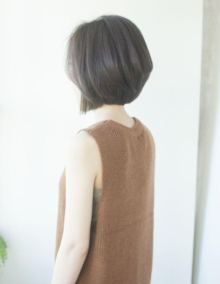 小顔前下がりショートボブ(YR-319)   ヘアカタログ・髪型・ヘアスタイル AFLOAT(アフロート)表参道・銀座・名古屋の美容室・美容院