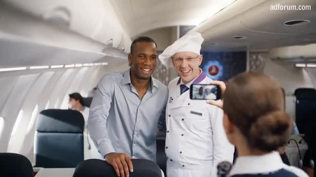 """#3 """"Epic Food   Drogba vs. Messi"""" for Turkish Airlines (By Crispin Porter + Bogusky) Been there, done that...The battle is on to see who can experience the best food the world can offer first."""