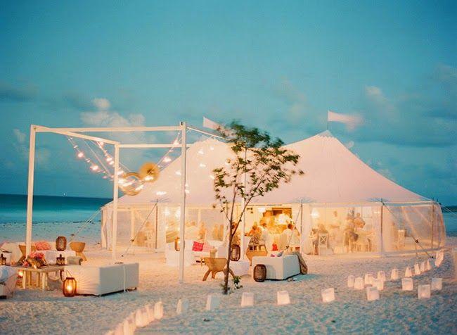 La boda en la playa que siempre había soñado... o casi!