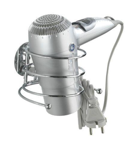 Wenko 18770100 Turbo-Loc Haartrocknerhalter - Befestigen ohne bohren, Kabelhalter, Stahl, 14 x 7.5 x 11.5 cm, Chrom Wenko http://www.amazon.de/dp/B003SLDWMG/ref=cm_sw_r_pi_dp_p3Scxb024G0H8