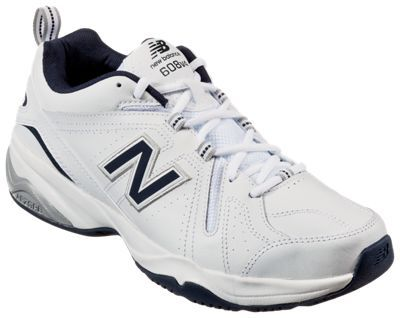New Balance 608v4 Training Shoes for Men - White - Extra Wide - 11.5