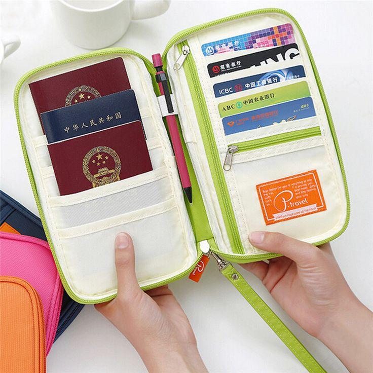 Новая Организация Путешествий Карты Карман Многофункциональный Мешок Хранения Бизнес Кошелек кошелек Сумка для на открытом воздухе купить на AliExpress