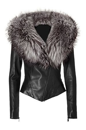 fitted+jacket+with+fur+collar   FUNK Leather Jackets !