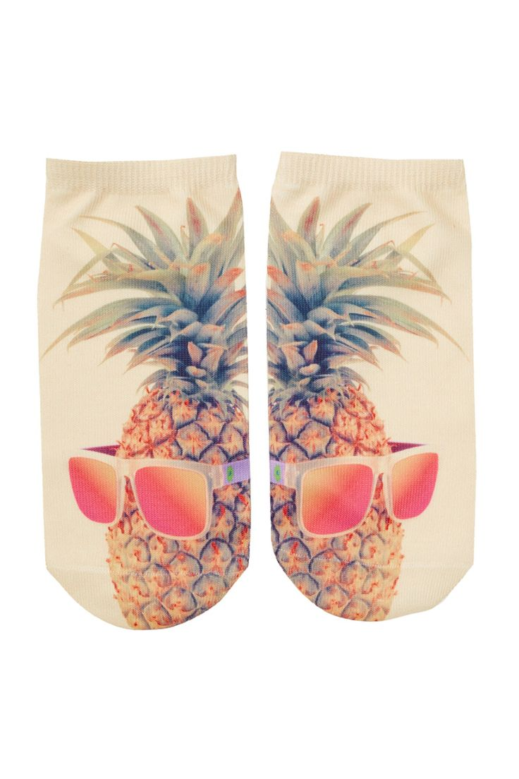 Style up your feet with these cool pineapple socks!