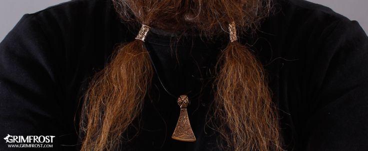 Grimfrost - Beard Rings - Beard Beads